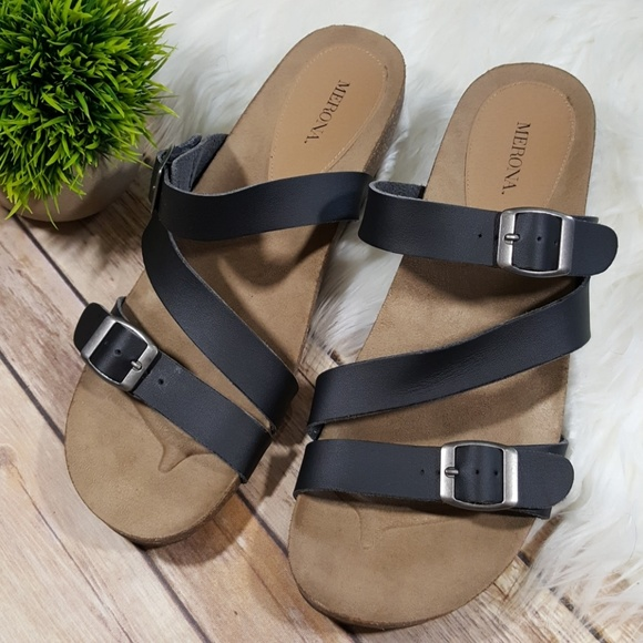 new specials best online buying new Merona Shoes | Birkenstock Style Wedge Sandal Size 11 | Poshmark